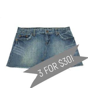 American Eagle Jean Denim Mini Skirt Size 8